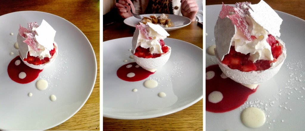 Blue Valentine, restaurant, paris, bonne adresse, vacherin aux fruit rouges