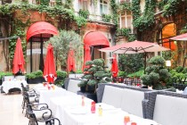 Making of le citron vert du meurice eat life with style - La cour jardin plaza athenee ...