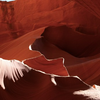 Lower Antelope Canyon, Etats-Unis, USA, Road Trip