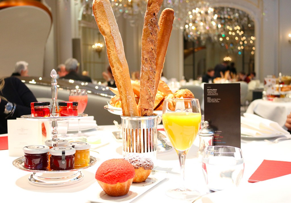 Plaza Athénée, Paris, Brunch, Viennoiseries