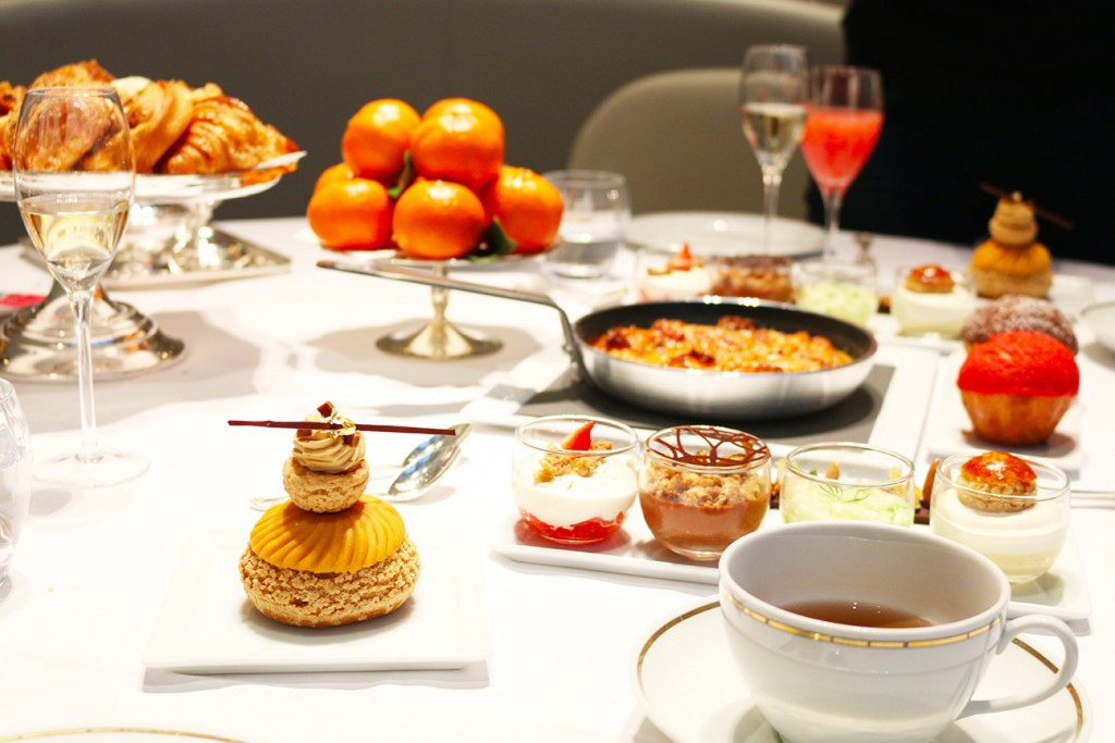 Plaza Athénée, Paris, Brunch, Desserts