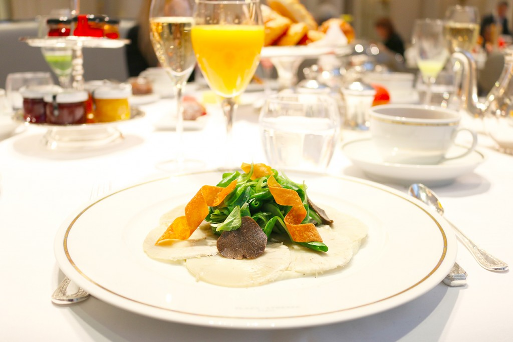 Plaza Athénée, Paris, Brunch, Artichaut