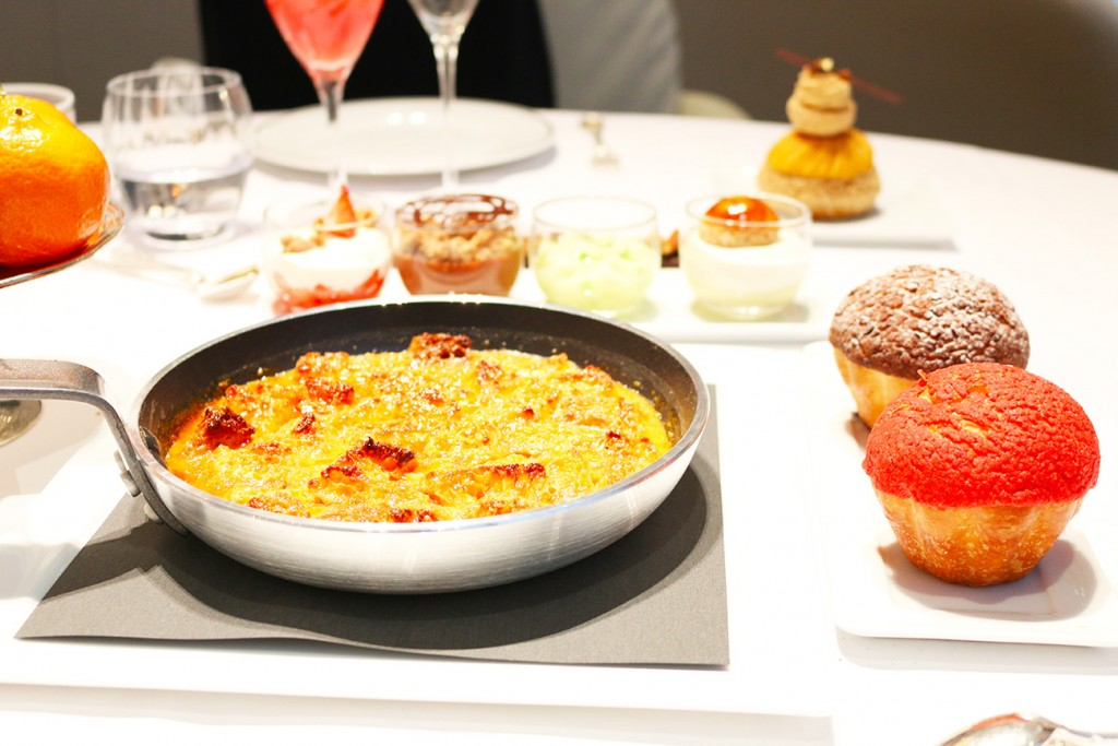 Plaza Athénée, Paris, Brunch, Pain perdu