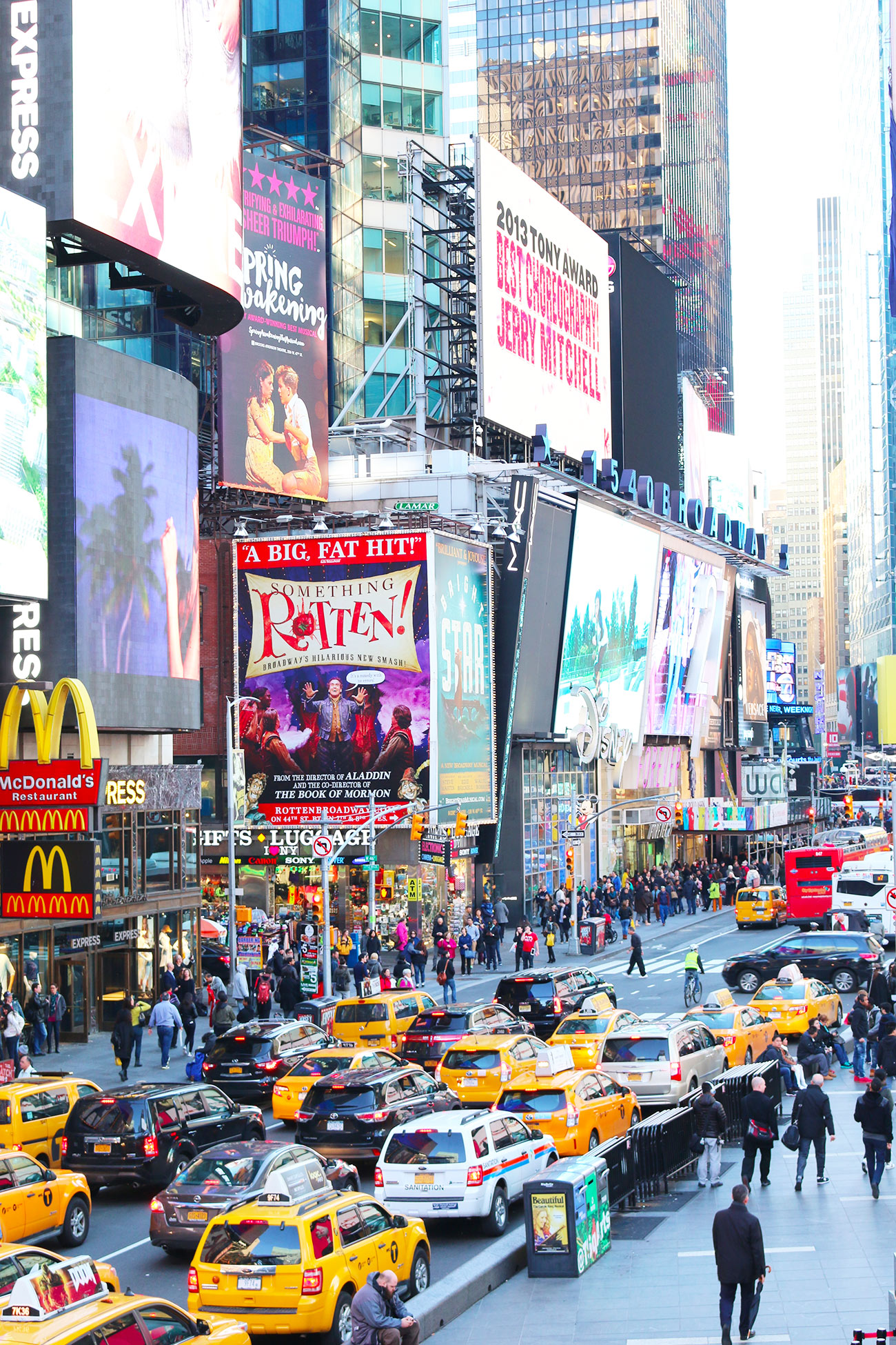 Air France, Jean Imbert, New York, Time Square