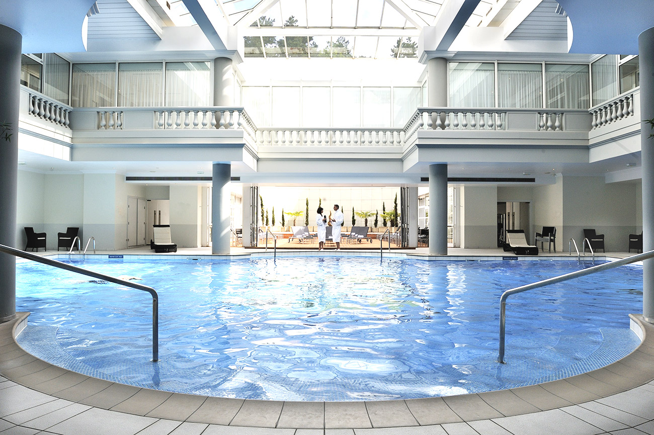 Trianon Palace, Versailles, Bootcamp, Aquagym