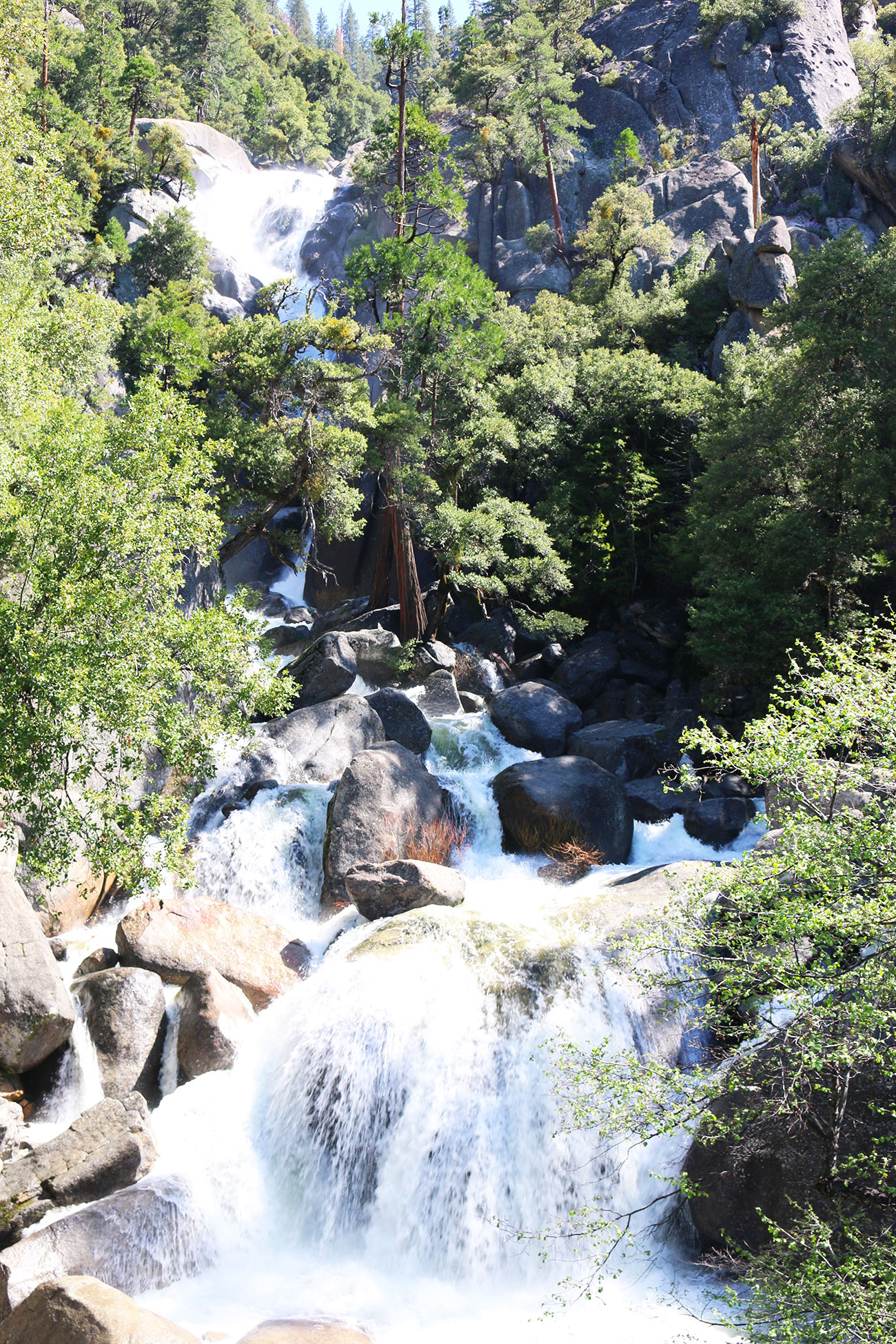 Yosemite National Park, Etats-Unis, USA, Road Trip, Chute d'eau