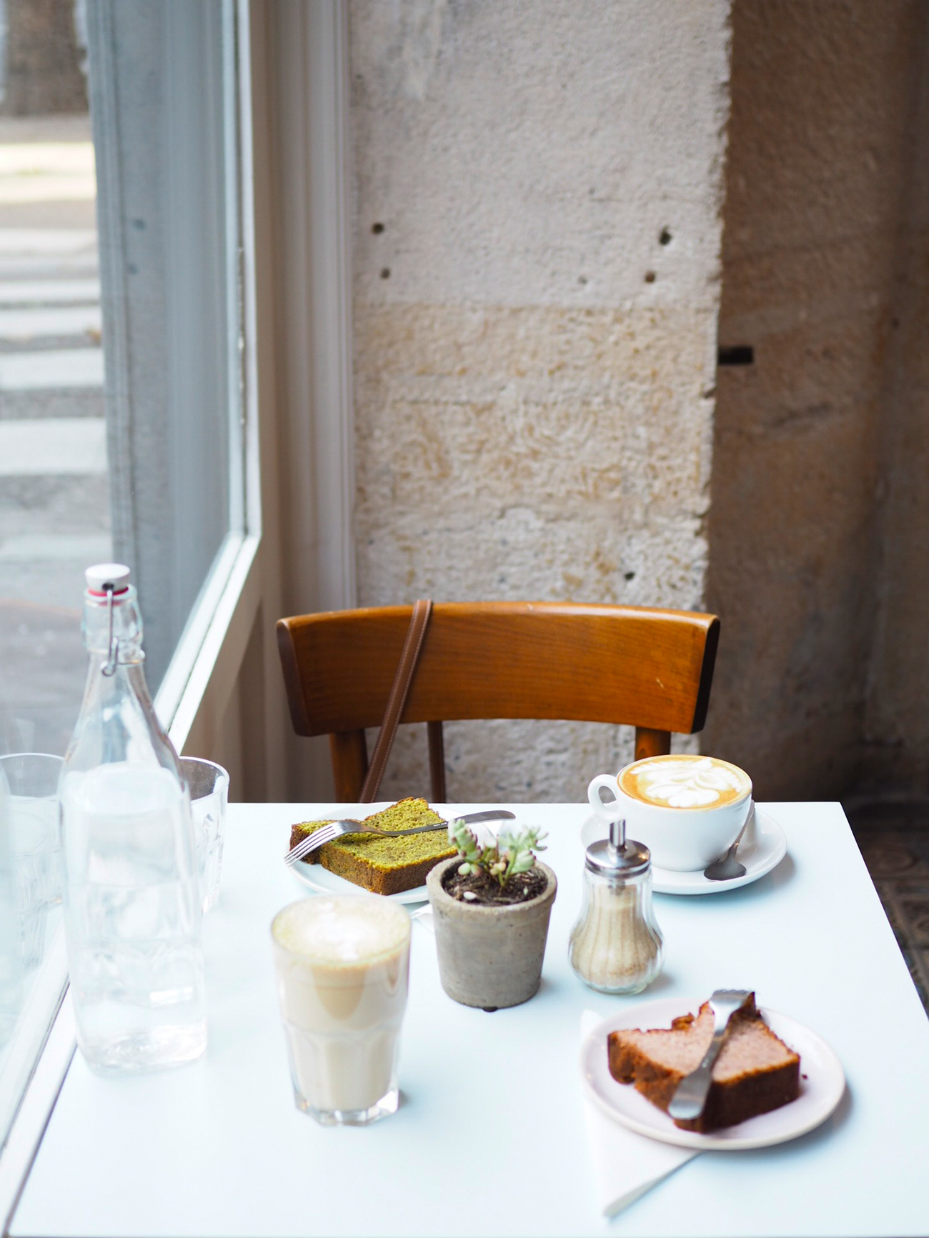 Passager, Café, Coffe-shop, Paris, petit déjeuner, breakfast
