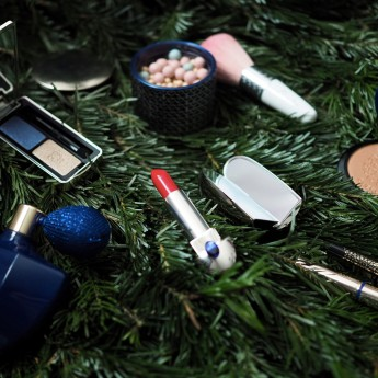 Guerlain, Natalia Vodianova, collection de Noël, Make-up, maquillage